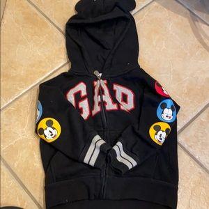 Gap Disney Boys Hoodie 3T Navy
